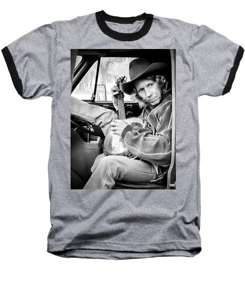 Banjo Man Baseball T-Shirt