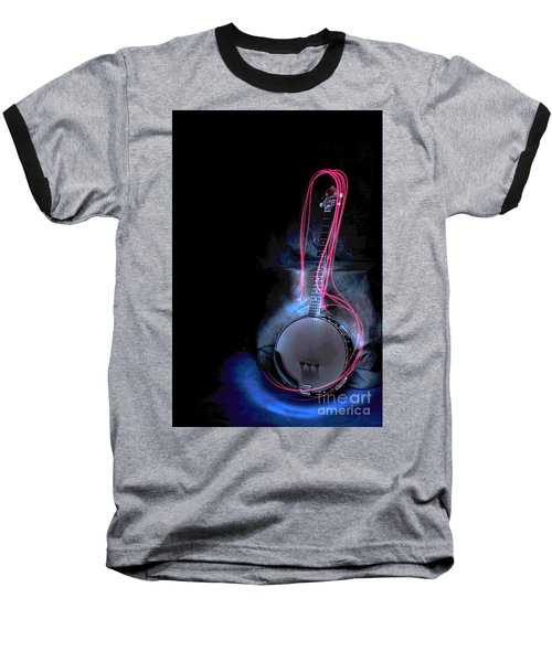 Baseball T-Shirt featuring the photograph Banjo by Randi Grace Nilsberg