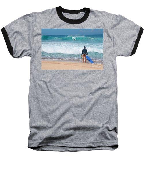 Banzai Pipeline Aqua Dream Baseball T-Shirt