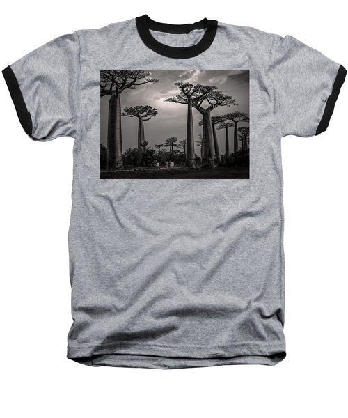 Baobab Highway Baseball T-Shirt