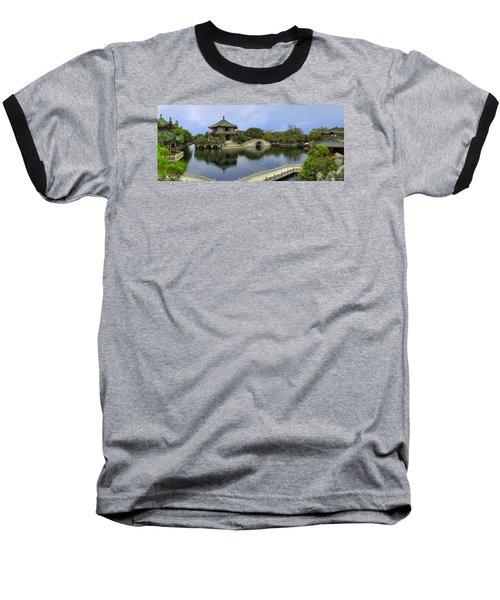 Baomo Garden Temple Baseball T-Shirt
