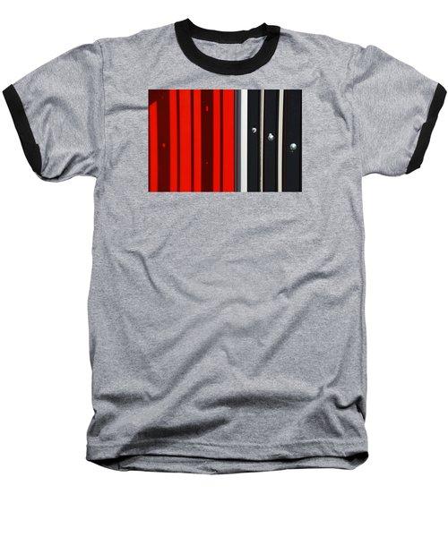 Bar Code Baseball T-Shirt by Wendy Wilton