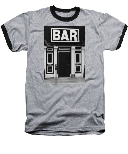 Baseball T-Shirt featuring the photograph Bar by Rodney Lee Williams