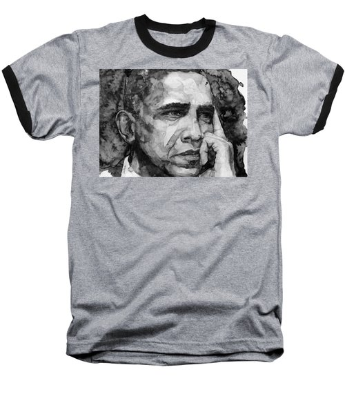 Barack Obama Baseball T-Shirt