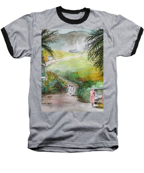 Barbados Baseball T-Shirt by Frank Hunter