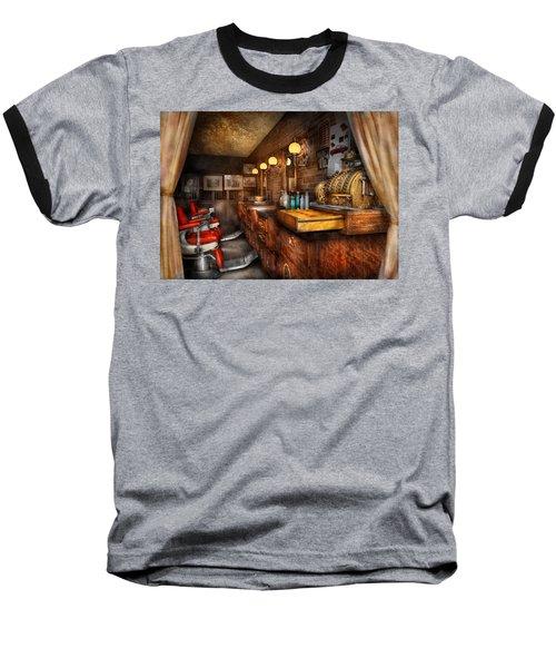 Barber - Closed On Sundays Baseball T-Shirt