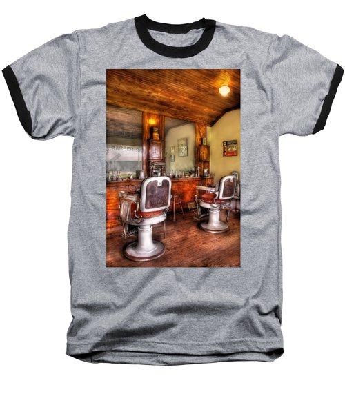 Barber - The Barber Shop II Baseball T-Shirt