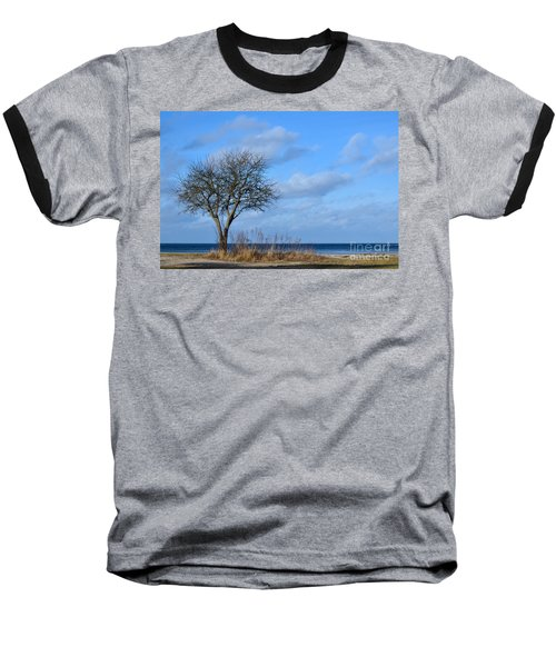 Bare Single Tree Baseball T-Shirt
