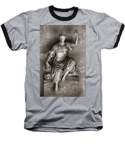 Bargello Sculpture Baseball T-Shirt