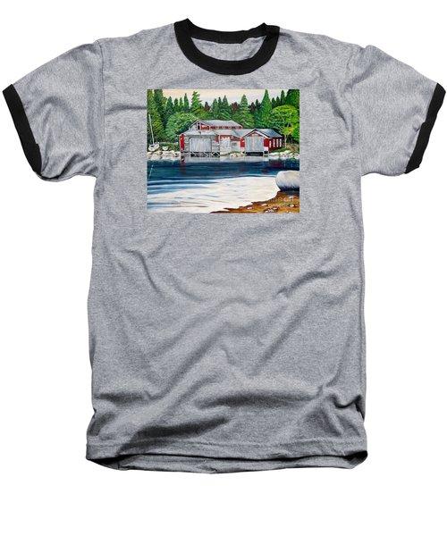Barkhouse Boatshed Baseball T-Shirt