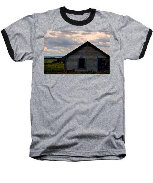 Baseball T-Shirt featuring the photograph Barn And Tractor by Matt Harang
