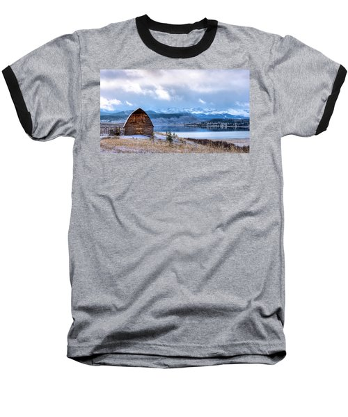 Barn At The Lake Baseball T-Shirt