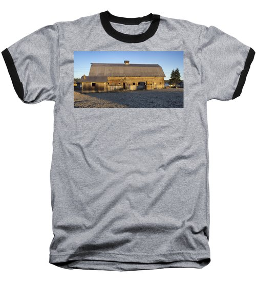 Barn In Rural Washington Baseball T-Shirt