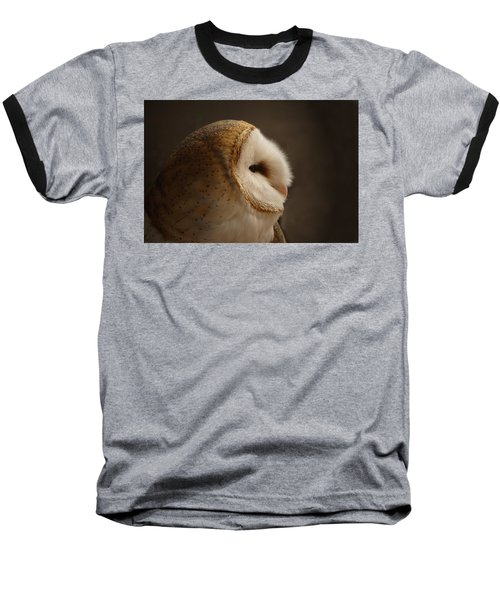 Barn Owl 3 Baseball T-Shirt