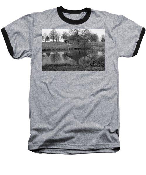 Barn Reflection Baseball T-Shirt