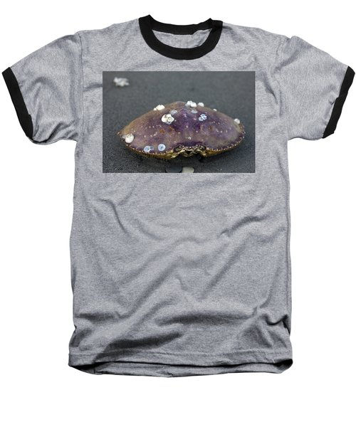 Barnacled Crab Shell Baseball T-Shirt