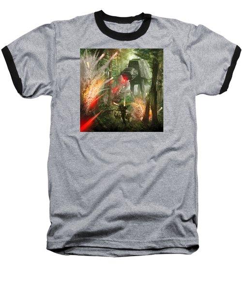 Barrage Attack Baseball T-Shirt
