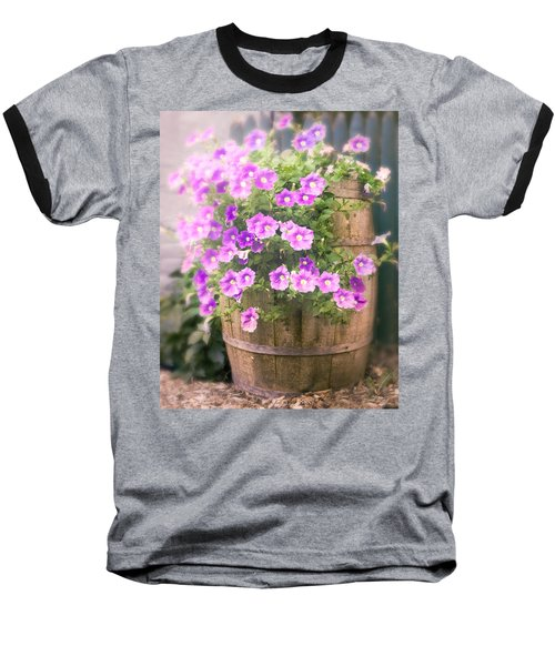 Barrel Of Flowers - Floral Arrangements Baseball T-Shirt