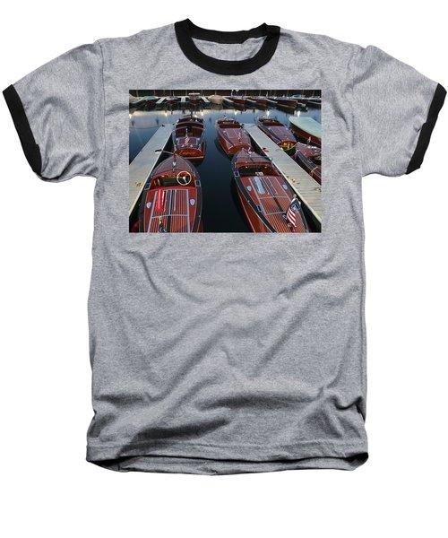 Barrelbacks At Night Baseball T-Shirt