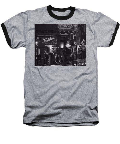 Bars On Broadway Nashville Baseball T-Shirt