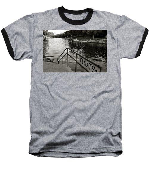 Barton Springs Pool In Austin Baseball T-Shirt