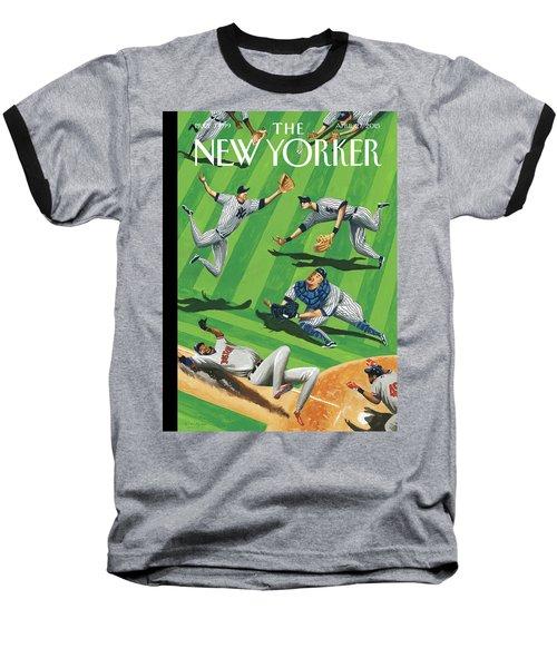 Baseball Ballet Baseball T-Shirt