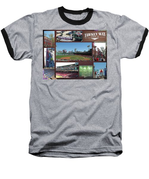 Baseball T-Shirt featuring the photograph Baseball Collage by Barbara McDevitt
