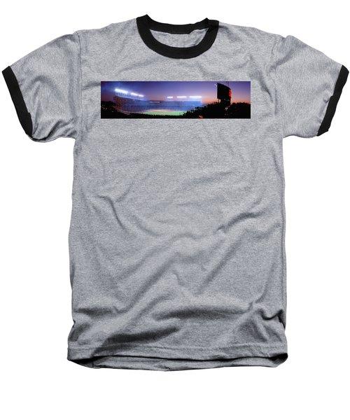 Baseball, Cubs, Chicago, Illinois, Usa Baseball T-Shirt by Panoramic Images