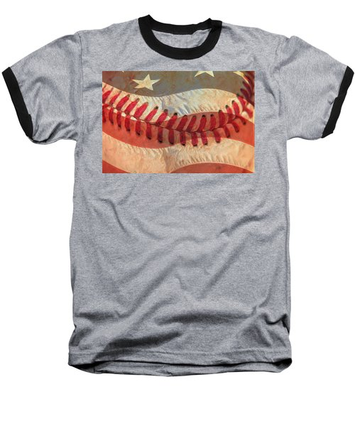 Baseball Is Sewn Into The Fabric Baseball T-Shirt