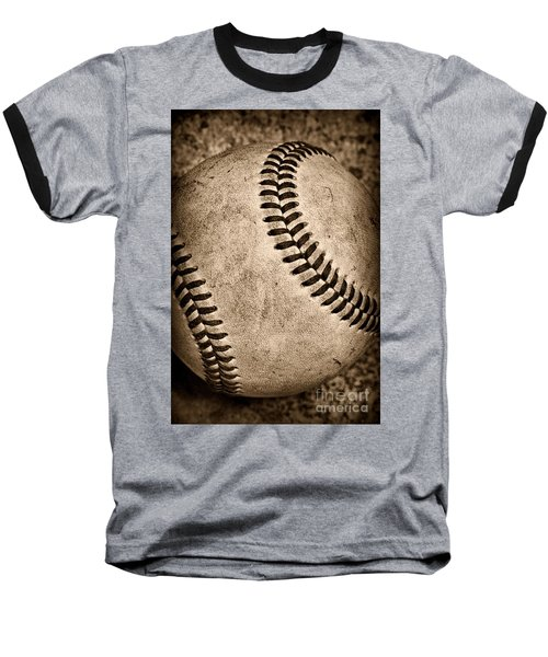 Baseball Old And Worn Baseball T-Shirt