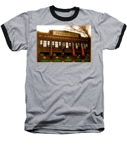 Baseballs Classic  V Bostons Fenway Park Baseball T-Shirt