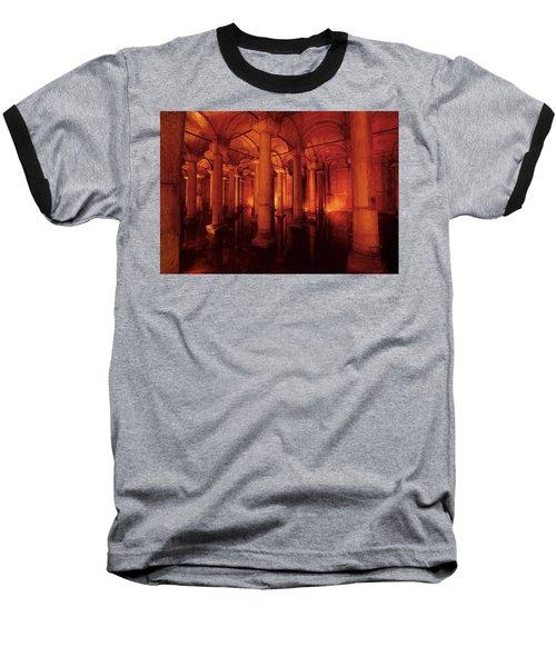 Basilica Cistern Baseball T-Shirt