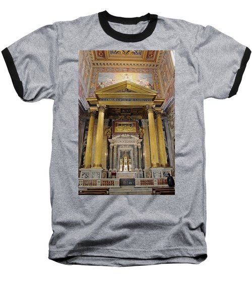 Basilica Of St John Lateran  Baseball T-Shirt
