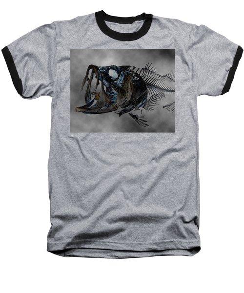 Bass Art Baseball T-Shirt