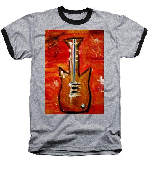 Bass Guitar 1 Baseball T-Shirt by Kelly Turner