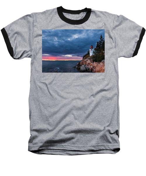 Bass Harbor Attitude Baseball T-Shirt
