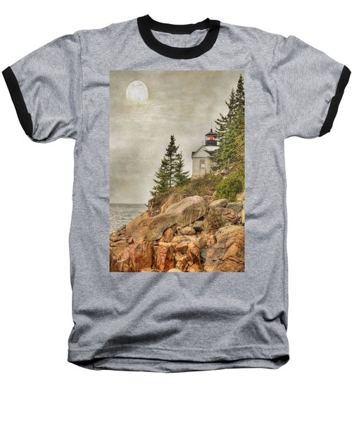 Bass Harbor Head Lighthouse. Acadia National Park Baseball T-Shirt