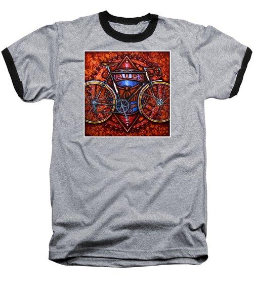 Bates Bicycle Baseball T-Shirt
