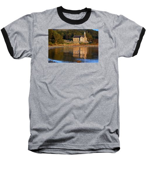 Bathed In Gods Light Baseball T-Shirt by Wendy Wilton