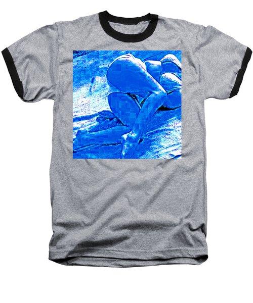 Bathing In Blu Light Baseball T-Shirt
