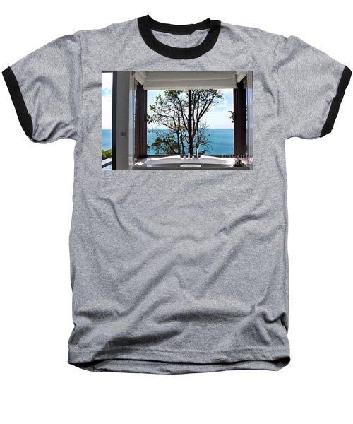 Bathroom With A View Baseball T-Shirt