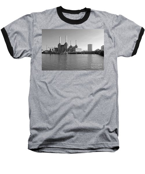 Battersea Power Station Baseball T-Shirt