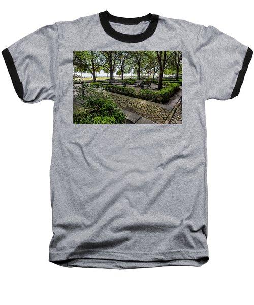 Battery Park Baseball T-Shirt by Sennie Pierson