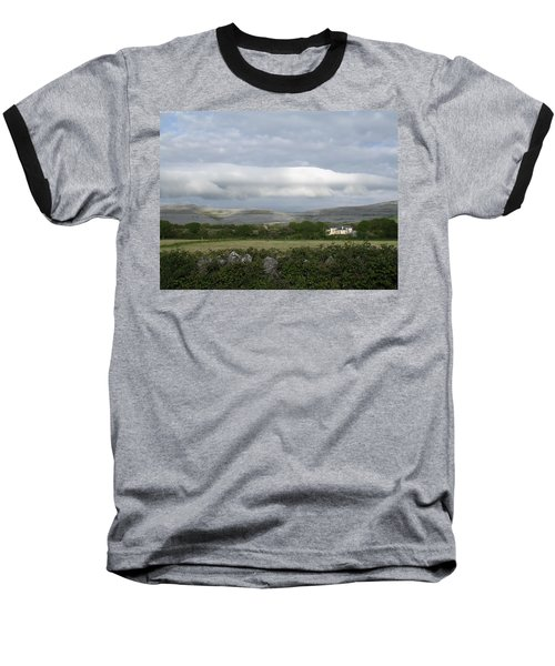 Baughlyvann Clouds Baseball T-Shirt