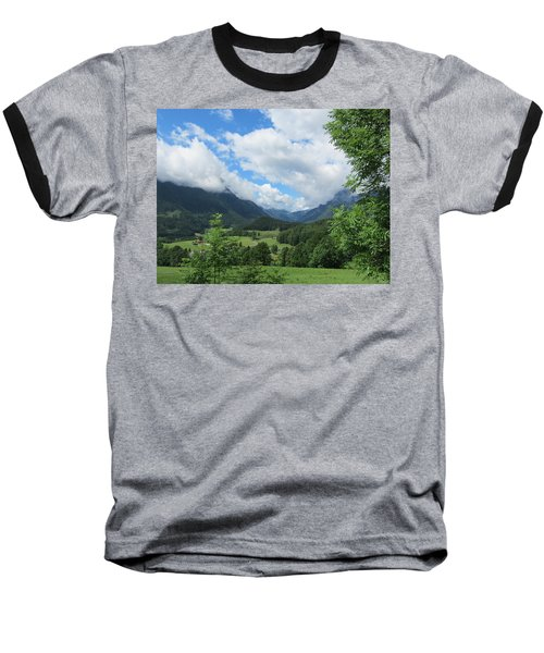 Bavarian Countryside Baseball T-Shirt