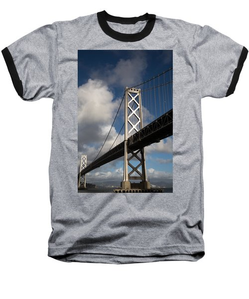 Bay Bridge After The Storm Baseball T-Shirt