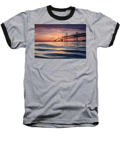 Bay Bridge Silk Baseball T-Shirt