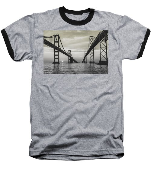 Bay Bridge Strong Baseball T-Shirt
