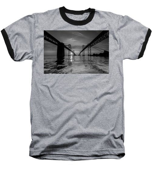 Bay Bridge Strength Baseball T-Shirt