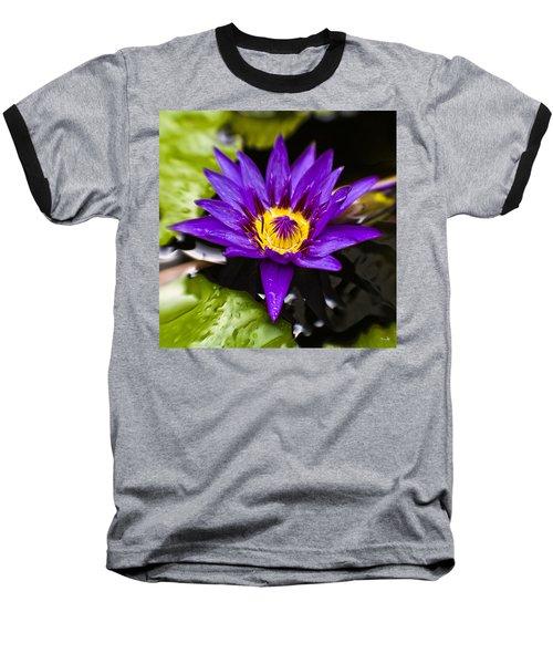 Bayou Beauty Baseball T-Shirt by Scott Pellegrin